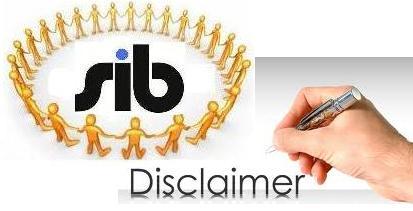 Disclaimer SIB